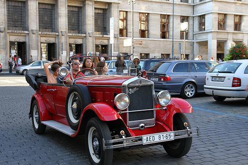 На машине в Чехию